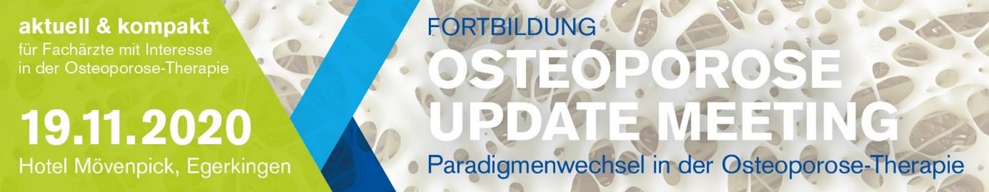 Fortbildung Osteoporose Update Meeting